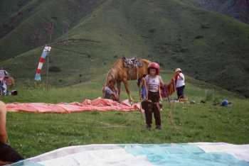 6a03c03a183 PARAGLIDING - EL SPEEDO - Kyrgyzstán ze vzduchu